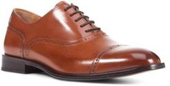 Saymore Leather Cap-Toe Oxfords