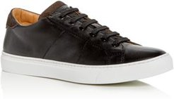 Colton Leather Low-Top Sneakers