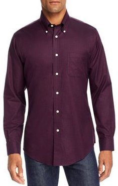 Twill Yarn-Dyed Check Regent Classic Fit Button-Down Shirt