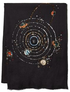 Galaxy Woven Wool & Silk Stole - 100% Exclusive