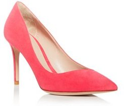 Decollete Pointed-Toe Pumps
