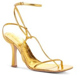 Square Toe Strappy High Heel Sandals