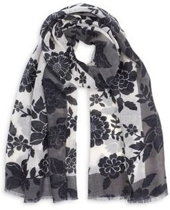 Silhouette Floral Wrap - 100% Exclusive