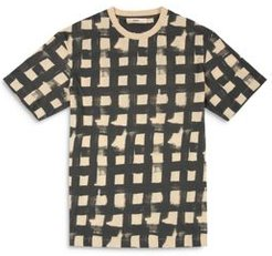 Cotton & Linen Cage Graphic Tee