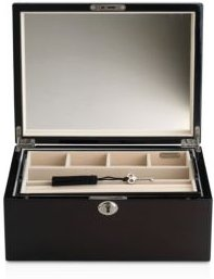 Reed and Barton Natural Instinct Modern Lines Espresso Jewelry Box
