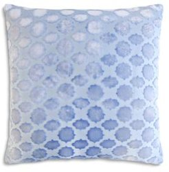 Mod Fretwork Velvet Decorative Pillow, 20 x 20