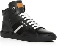 Hedern Leather High-Top Sneakers