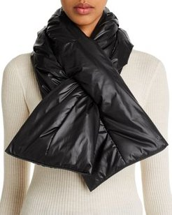 All Weather Packable Puffer Scarf & Pouch