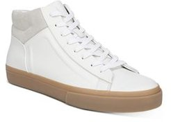 Fynn Leather High-Top Sneakers