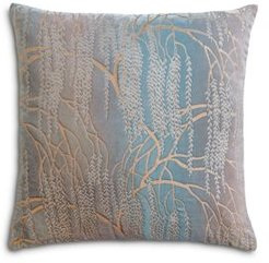 Willow Metallic Decorative Pillow, 22 x 22
