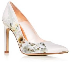 Mwelni Floral Pointed-Toe Pumps