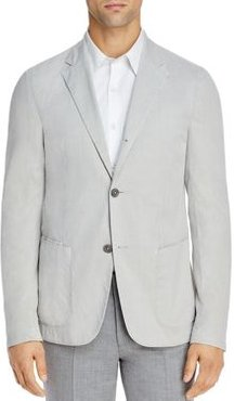 Stretch Cotton Garment-Dyed Slim Fit Sport Coat