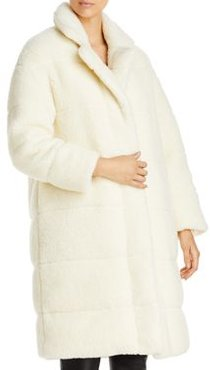 Bagaud Reversible Faux Shearling Down Coat
