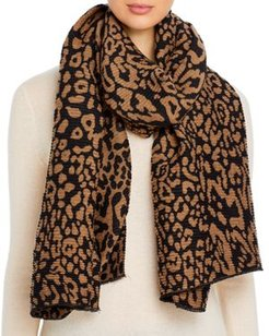 Pleated Animal Scarf - 100% Exclusive