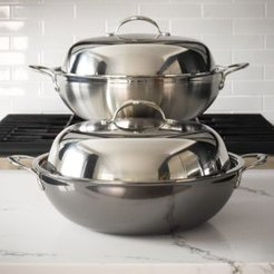 ProBond 14 Forged Stainless Steel Wok & Lid
