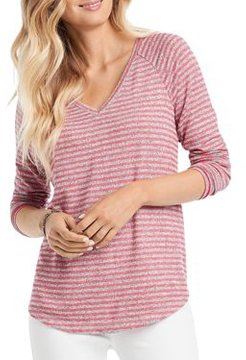 Nic+Zoe Relaxed Stripes Top