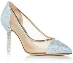 Jasmine Glitter Pointed Toe Pumps