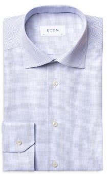 Checked Contemporary Fit Dress Shirt