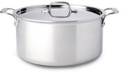 Stainless Steel 8-Quart Stock Pot with Lid