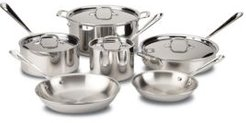 All Clad Stainless Steel 10-Piece Set