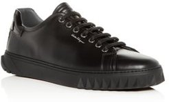 Cube Leather Low-Top Sneakers