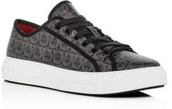 Anson Gancini Print Low-Top Sneakers