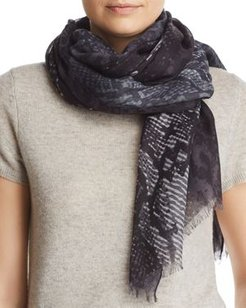 Snake Print Scarf - 100% Exclusive