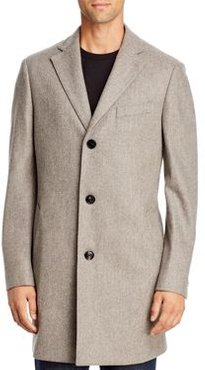 Double-Face Regular Fit Topcoat