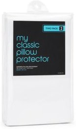 Classic 300 Thread Count Queen Pillow Protector, Pack of 2 - 100% Exclusive