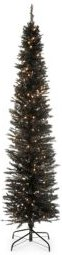 6 ft. Lighted Tinsel Tree