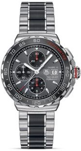 Formula 1 Calibre 16 Chronograph Steel and Brushed Ceramic Watch, 44mm
