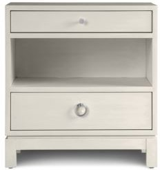 Sadie Two-Drawer Nightstand - 100% Exclusive