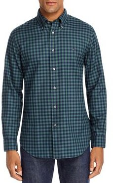 Gingham Regent Brushed Oxford Classic Fit Button-Down Shirt