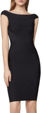 Icon Banded Body-Con Dress