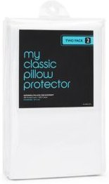Classic 300 Thread Count Standard Pillow Protector, Pack of 2 - 100% Exclusive