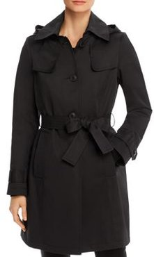 Shield Belted Trench Coat