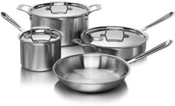 d5 Stainless Brushed 7-Piece Cookware Set - 100% Exclusive