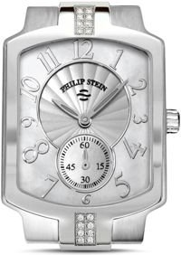 Classic Sport Small Diamond and Mother of Pearl Watch Head, 27mm