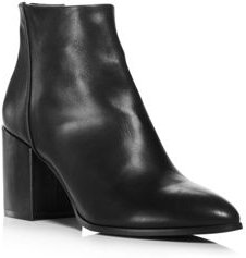 Dante Pointed Toe Leather Booties - 100% Exclusive