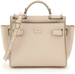 SICILY 62 SOFT SMALL BAG OS Beige Leather