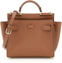 SICILY 62 SOFT SMALL BAG OS Brown Leather