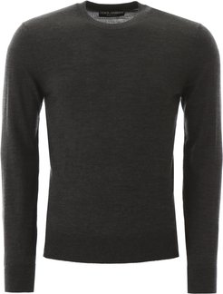 SHAVED WOOL PULLOVER 46 Grey Wool