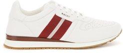 ASTEL SNEAKERS 7 White, Red Leather