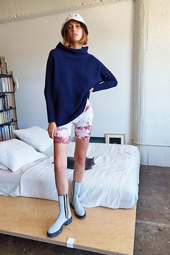 Ottoman Slouchy Tunic by Free People, Midnight, S