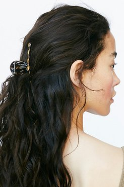Fine Hair Claw by Free People, Tokyo tan, One Size