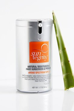 Natural Moisturizing Face Sunscreen & Primer by Suntegrity at Free People, Sunscreen & primer, One Size