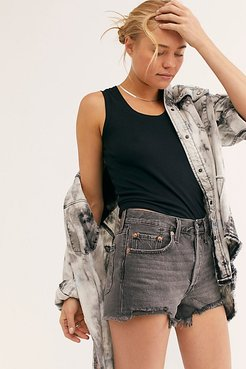 501 High-Rise Denim Shorts by Levi's at Free People, Eat Your Words, 28