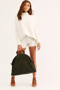 Willow Vintage Tote by We The Free at Free People, Sun Fade Suede, One Size
