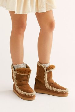 Creston Boots by MOU at Free People, Cognac, EU 39