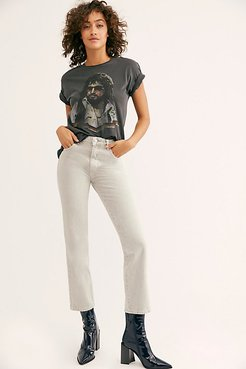 Original Straight Jean by Rolla's at Free People, Stone, 28